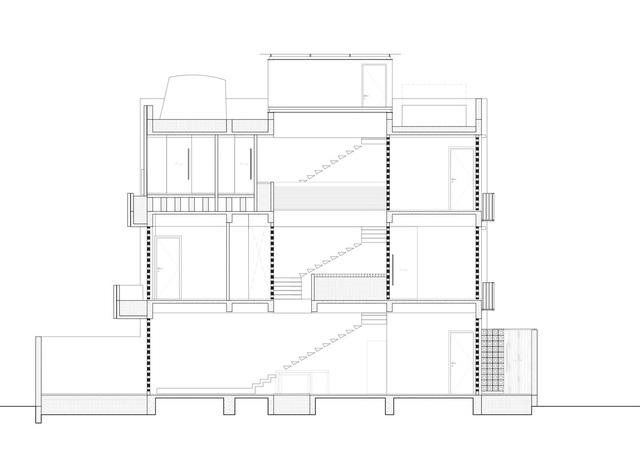 [Ảnh] Ngôi nhà ống 3 tầng có thiết kế lạ, độc đáo ở TP HCM - Ảnh 19.