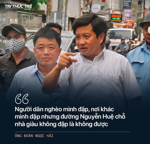 Ông Đoàn Ngọc Hải: Từ cuộc chiến dẹp vỉa hè năm 2017 đến 2 lần từ chức - Ảnh 3.