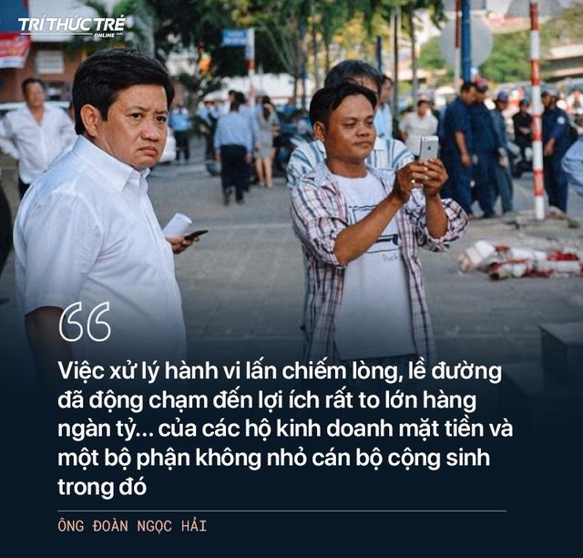 Ông Đoàn Ngọc Hải: Từ cuộc chiến dẹp vỉa hè năm 2017 đến 2 lần từ chức - Ảnh 10.