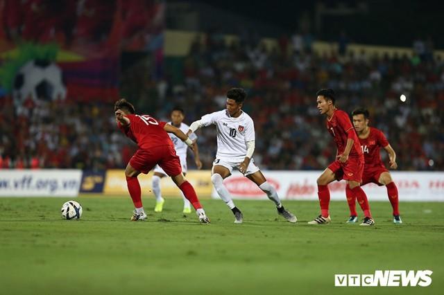 Thắng dễ Myanmar, U23 Việt Nam chạy đà hoàn hảo cho SEA Games - Ảnh 1.