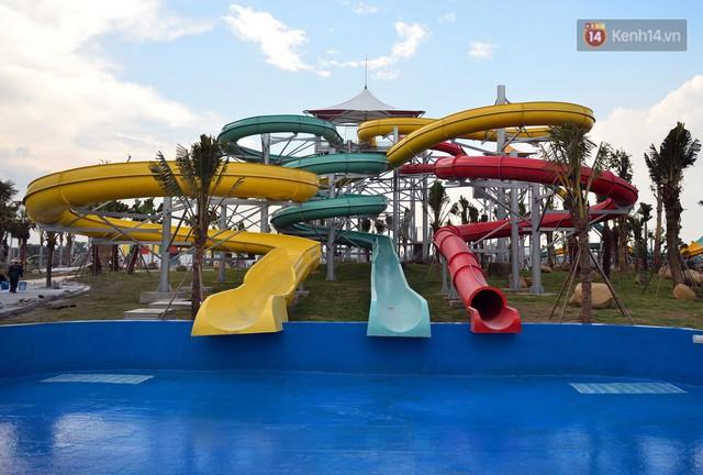 Cận cảnh công viên nước hiện đại nhất Thủ đô sắp được khai trương - Ảnh 14.