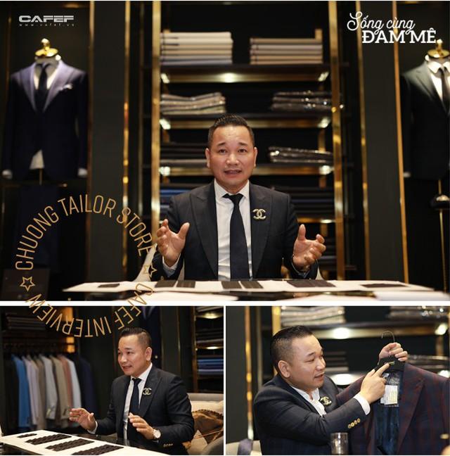 """Từ nghệ nhân cắt tay 52 bộ suit/ngày đến ông chủ Chương Tailor: """"Nếu chỉ vì vải tốt, sẽ chẳng sản phẩm nào của tôi có giá 600 triệu đồng"""" - Ảnh 3."""