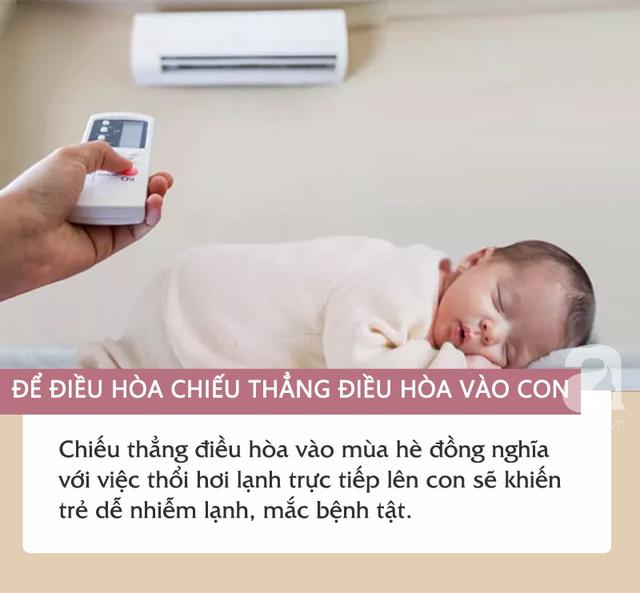 Những sai lầm khi sử dụng điều hòa khiến trẻ dễ phải nhập viện vì bệnh tật bủa vây - Ảnh 2.