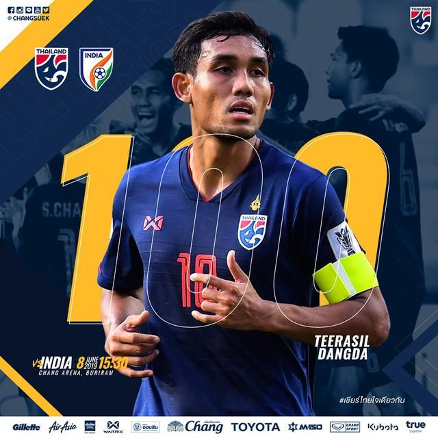 Thái Lan bạc nhược, thua tiếp Ấn Độ và xếp cuối Kings Cup 2019 - Ảnh 1.