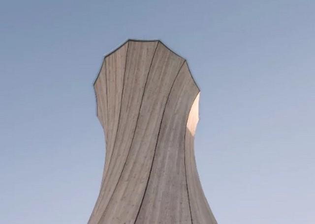 Độc đáo tòa tháp hình xoắn ốc được làm từ gỗ đầu tiên trên thế giới, không cong vênh, bền chắc không kém bê tông - Ảnh 3.