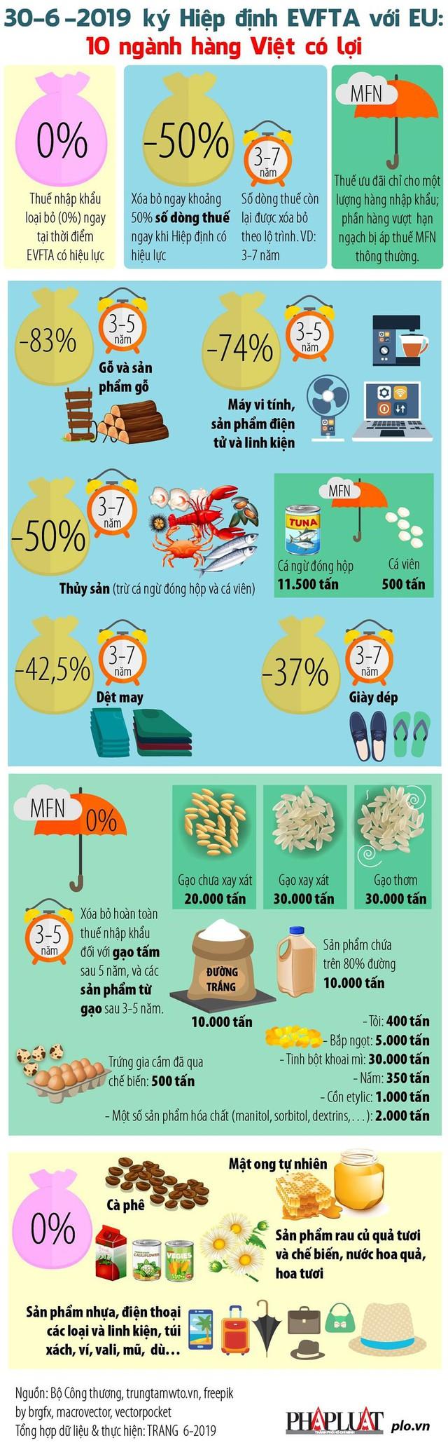 Những mặt hàng Việt có lợi nhất khi EU miễn thuế - Ảnh 1.