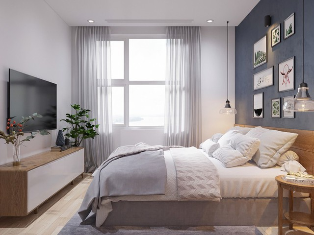 Căn hộ 3 phòng ngủ, sở hữu những mảng xanh tinh tế - Ảnh 8.
