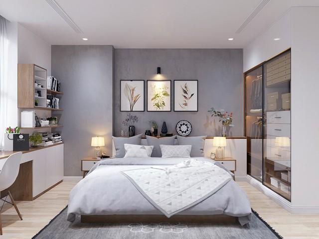 Căn hộ 3 phòng ngủ, sở hữu những mảng xanh tinh tế - Ảnh 9.