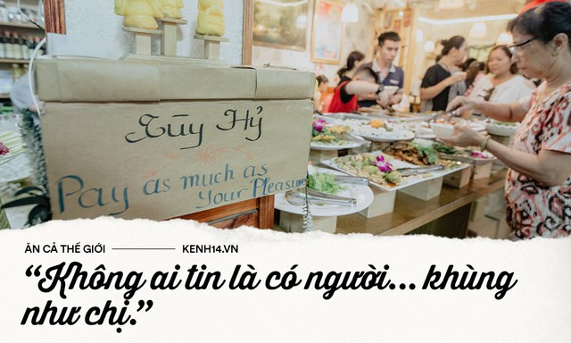 Quán chay từ thiện độc nhất vô nhị ở Sài Gòn: Ăn tuỳ bụng trả tiền… tuỳ tâm - Ảnh 10.