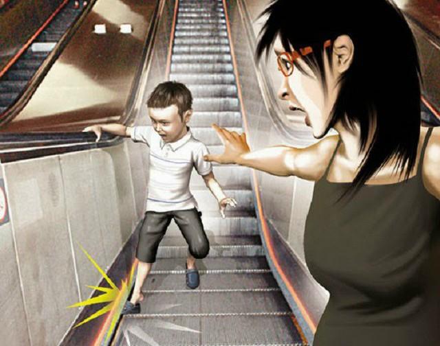Nút Dừng khẩn cấp của thang cuốn nằm ở đâu? Nhiều người đi cả tỷ lần rồi vẫn không biết, đến khi sự cố xảy ra không ứng phó kịp - Ảnh 2.