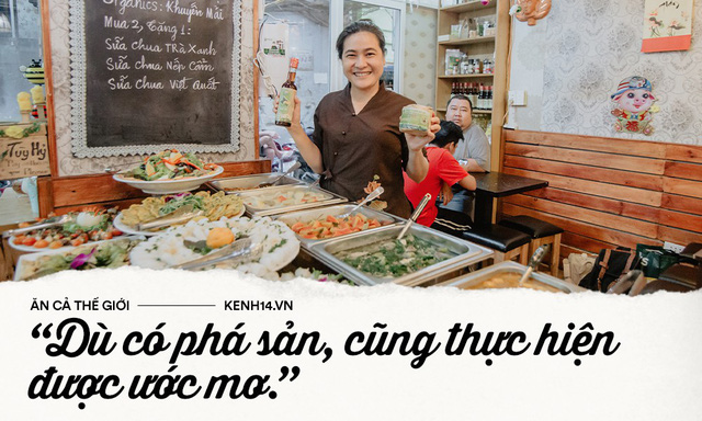 Quán chay từ thiện độc nhất vô nhị ở Sài Gòn: Ăn tuỳ bụng trả tiền… tuỳ tâm - Ảnh 14.
