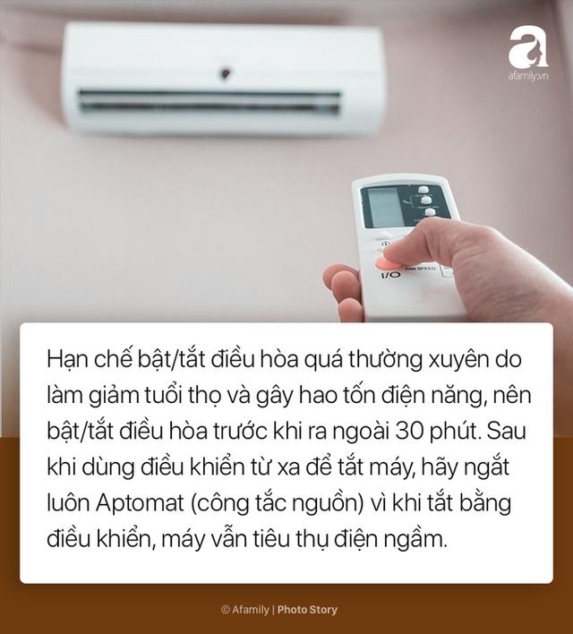 8 cách dùng điều hòa tiết kiệm để bạn không hóa đá khi nhận hóa đơn tiền điện mùa hè này - Ảnh 4.