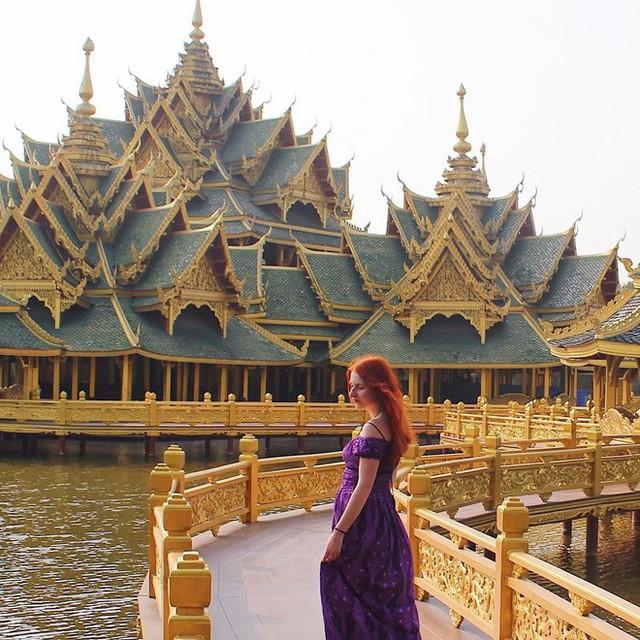 """Không tin vào mắt mình ngôi đền được canh giữ bởi """"cá khổng lồ"""" đẹp hệt cổ tích đang """"gây bão"""" Thái Lan - Ảnh 28."""