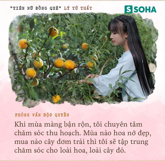 Lý Tử Thất trả lời độc quyền báo Việt Nam, hé lộ cuộc sống thực sau những hình đẹp như tiên cảnh - Ảnh 7.