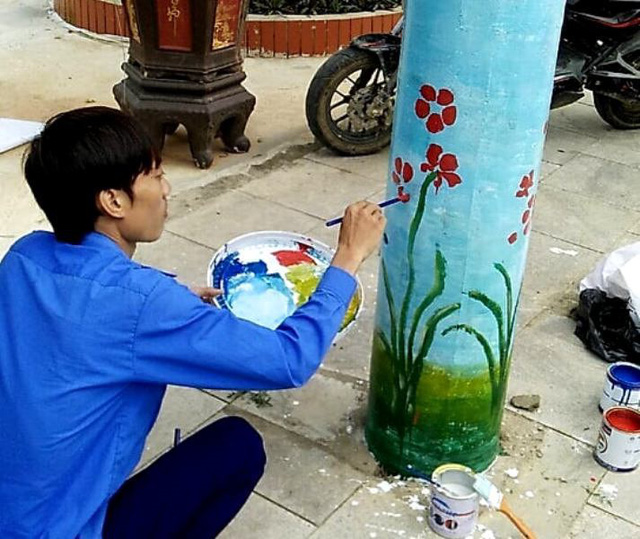 """Thanh Hóa: Hàng trăm cây cột điện """"bỗng nở hoa - Ảnh 2."""