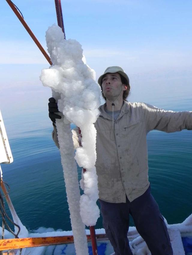 Hiện tượng tuyết muối rơi ngập Biển Chết khiến khoa học đau đầu suốt gần 50 năm cuối cùng đã có lời giải - Ảnh 3.