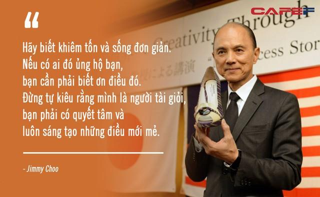 Người đàn ông từng làm mưa làm gió với thương hiệu Jimmy Choo, thiết kế giày cho cố công nương Diana: Đừng bao giờ tham lam hay sân si!  - Ảnh 3.