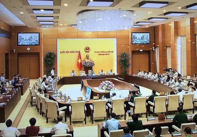 Khai mạc Phiên họp thứ 35 của Ủy ban Thường vụ Quốc hội - Ảnh 1.