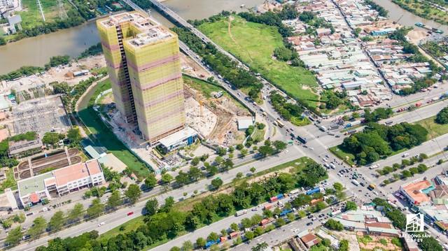 Cận cảnh dự án căn hộ cao cấp tại Phú Mỹ Hưng của Quốc Cường Gia Lai vừa bị buộc ngưng huy động vốn - Ảnh 2.