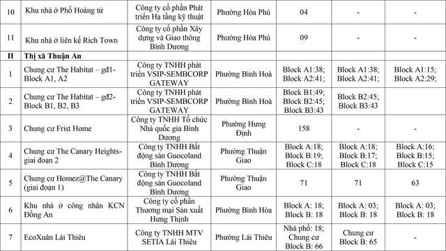 Bình Dương: 22 dự án nhà ở thương mại được phép bán cho người nước ngoài - Ảnh 2.