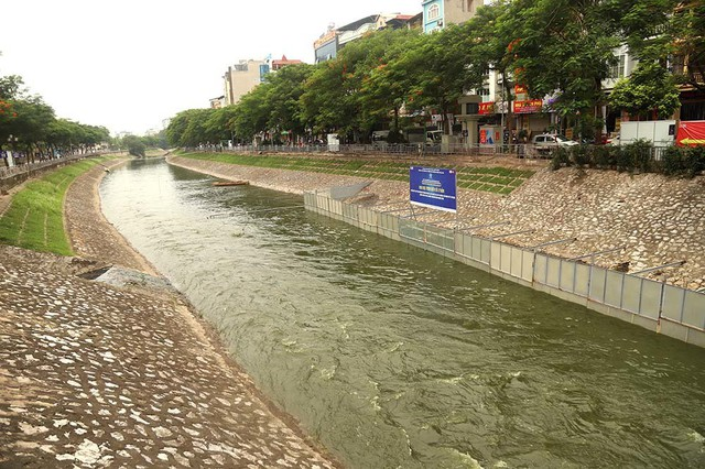 Chuyên gia Nhật tính kế không để triệu khối nước cuốn trôi kết quả sông Tô Lịch - Ảnh 3.