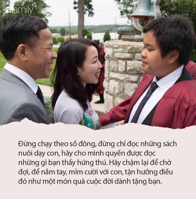 Mẹ Đỗ Nhật Nam: Đừng để trẻ nghĩ rằng, nhiệm vụ của cuộc đời chúng chỉ là để vượt qua các kì thi và làm cha mẹ hài lòng - Ảnh 2.