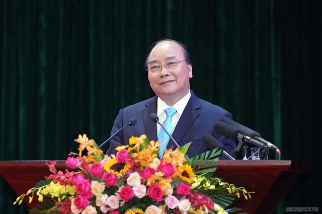 Chùm ảnh: Thủ tướng dự Hội nghị xúc tiến đầu tư, thương mại, du lịch Lào Cai - Ảnh 8.