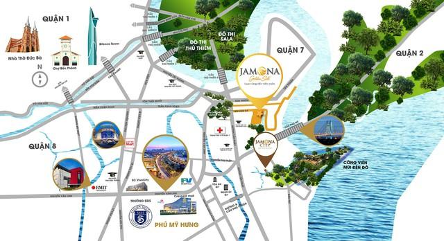 [Đánh Giá Dự Án] 2 chung cư cao cấp nhận nhà ở ngay tại khu Nam Sài Gòn, nhưng phải sống chung với nạn kẹt xe - Ảnh 3.