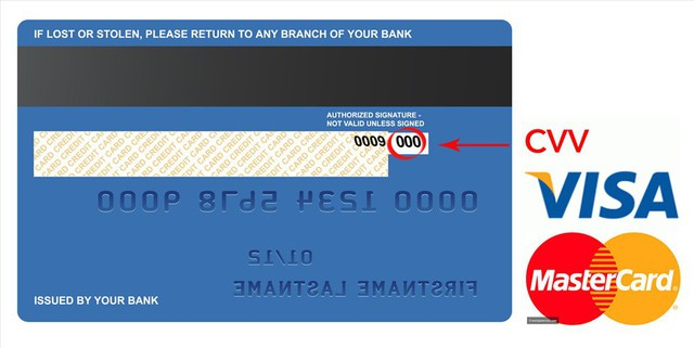 Lộ mã CVV trên thẻ tín dụng, chủ thẻ có nguy cơ bị hack sạch tiền - Ảnh 1.
