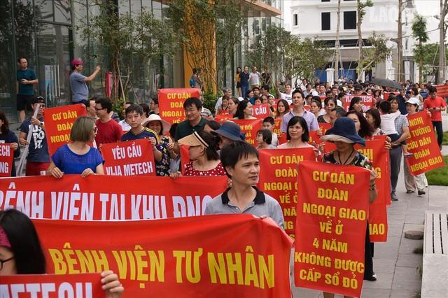 Cư dân nhiều chung cư ở Hà Nội