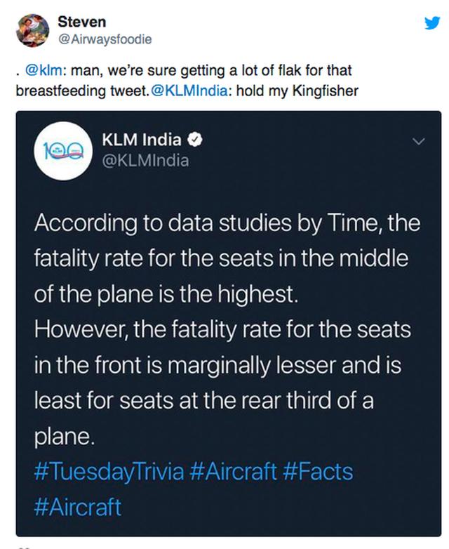 """Sốc: Hãng hàng không Hà Lan gây phẫn nộ khi """"lỡ miệng"""" công bố chỗ ngồi… """"dễ chết nhất"""" trên máy bay - Ảnh 5."""