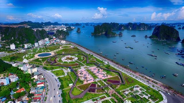 Công viên hiện đại ở Quảng Ninh, cầu đi bộ thành nơi ươm nấm - Ảnh 9.