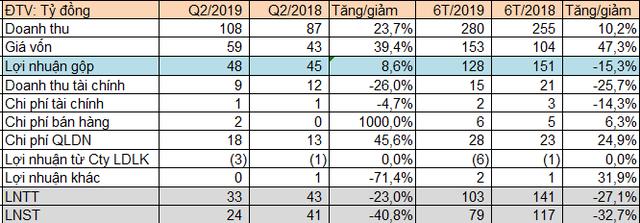 Long Hậu (LHG): Không còn phát sinh doanh thu bán đất nền; LNST quý 2 giảm 41% so với cùng kỳ - Ảnh 2.