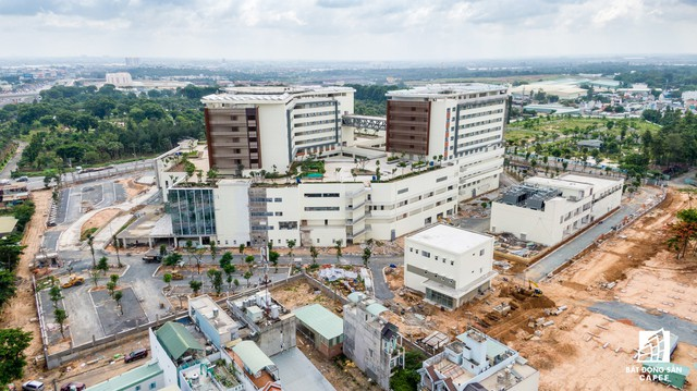 Cận cảnh dự án bệnh viện gần 6.000 tỷ đồng tại TP.HCM sắp đi vào hoạt động vào cuối năm 2019 - Ảnh 4.