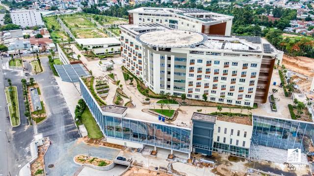 Cận cảnh dự án bệnh viện gần 6.000 tỷ đồng tại TP.HCM sắp đi vào hoạt động vào cuối năm 2019 - Ảnh 9.