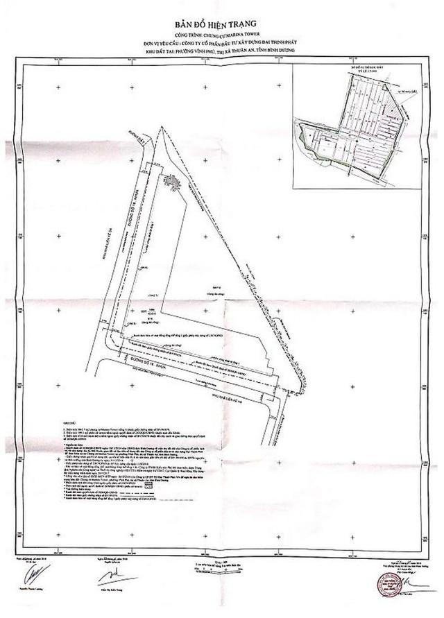 Thực hư về việc dự án Marina Tower - Bình Dương xây dựng trái phép - Ảnh 1.