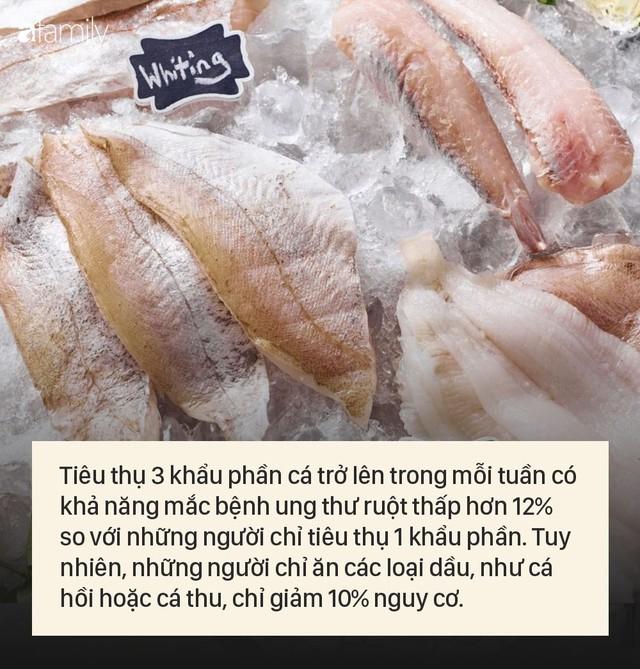Ăn cá 3 lần/tuần giảm hơn 10% nguy cơ ung thư ruột, nhưng một số loại cá có tác dụng ít hơn - Ảnh 1.