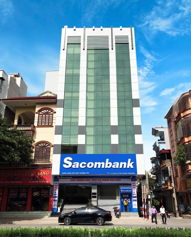 Đẩy mạnh Bắc tiến, Sacombank chính thức có mặt tại cố đô Hoa Lư - Ảnh 2.