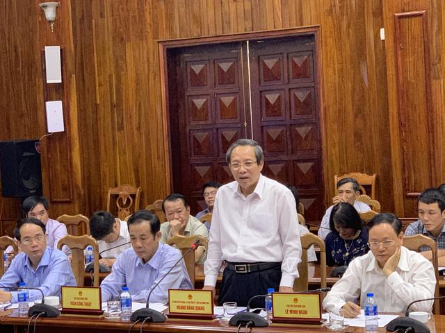 Bí thư Quảng Bình: Chính quyền tỉnh vào cuộc quyết liệt đồng hành cùng nhà đầu tư chiến lược tại dự án FLC Quảng Bình - Ảnh 1.