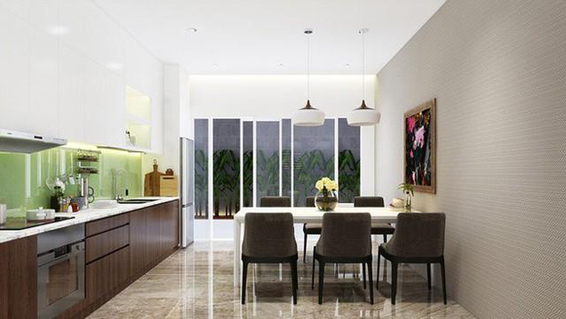 Nhà phố 56 m2 thiết kế đẹp như biệt thư hạng sang - Ảnh 6.