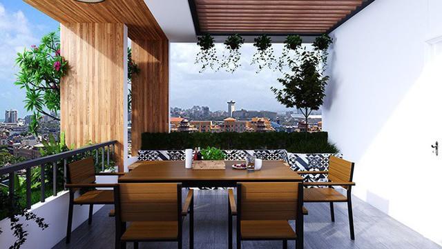Nhà phố 56 m2 thiết kế đẹp như biệt thư hạng sang - Ảnh 8.