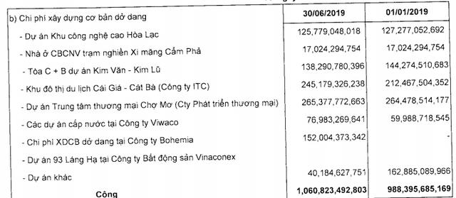 Vinaconex lãi ròng 6 tháng gần 263 tỷ, tăng 97% cùng kỳ năm trước - Ảnh 5.
