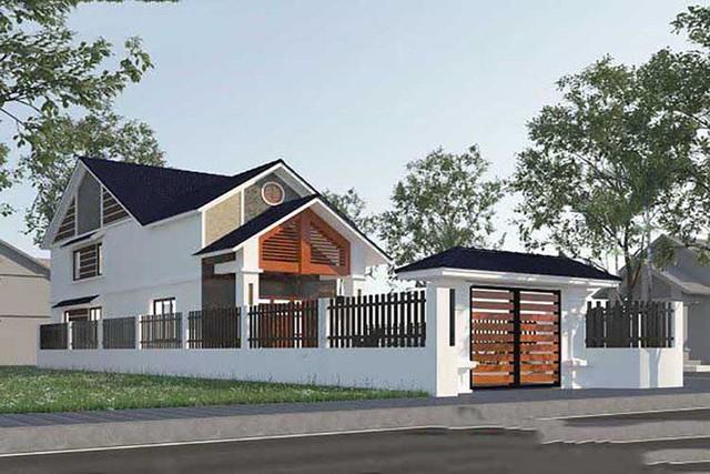 Mẫu nhà cấp 4 gác lửng mái Thái đẹp miễn chê chỉ 200- 300 triệu đồng - Ảnh 6.