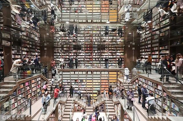 Ngắm kiến trúc nhà sách tuyệt đẹp nguy nga như cung điện - Ảnh 1.