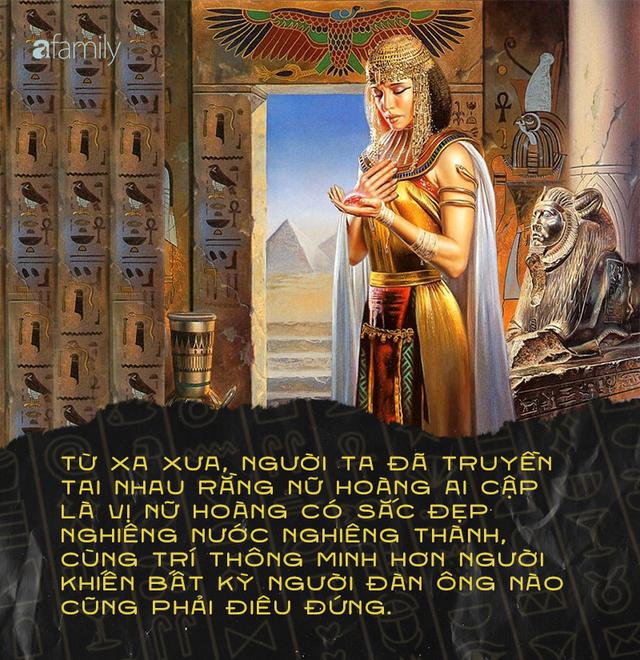 """Bí ẩn cuộc đời Nữ hoàng Cleopatra: Vị nữ vương quyến rũ với tài trí thông minh vô thường và độc chiêu quyến rũ đàn ông """"bách phát bách trúng"""" - Ảnh 2."""
