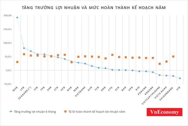 Điểm sáng bức tranh lợi nhuận ngân hàng Việt nửa đầu năm - Ảnh 1.