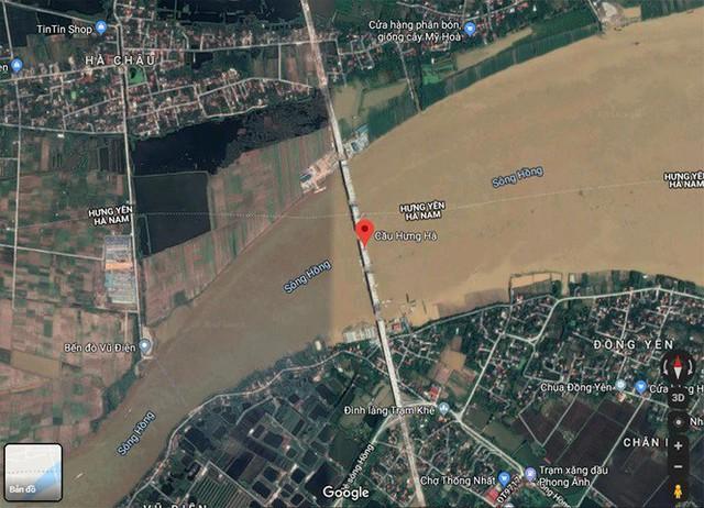 Cận cảnh cầu Hưng Hà và tuyến đường nối hai cao tốc lớn - Ảnh 16.