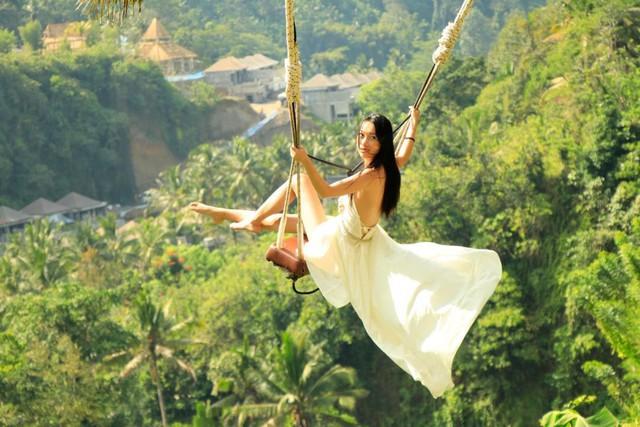 Trải nghiệm du lịch Bali Swing – Trò đu dây mạo hiểm nhưng vạn người mê ở quốc đảo Indonesia - Ảnh 2.