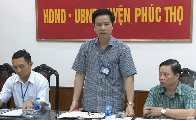 HĐND Hà Nội xem xét bãi nhiệm tư cách đại biểu cựu Bí thư Huyện ủy Phúc Thọ  - Ảnh 1.