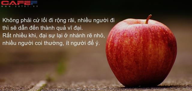 Từ hành trình chinh phục cây táo của năm chú sâu, ngẫm về con đường thành công của đời người: Giàu hay nghèo, thành công hay thất bại đều từ đây mà ra! - Ảnh 1.